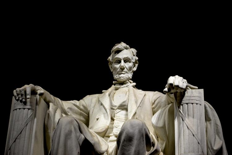 statue de Braham Lincoln